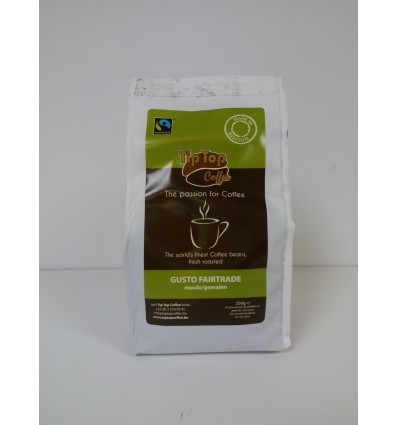 Gusto Fair Trade moulu 250 Gr.