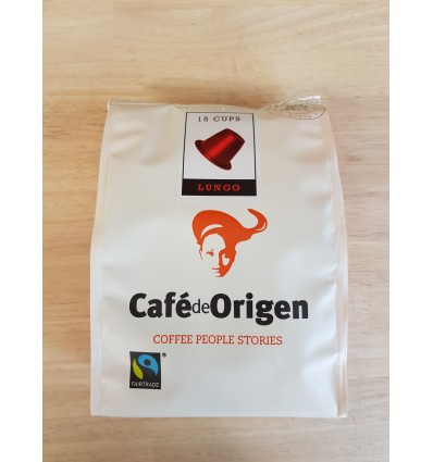 Café capsules Lungo