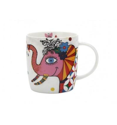 "Mug café/thé 370ml ""éléphant"""