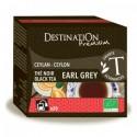 Thé noir earl grey - Ceylan - 20x2gr - Destination Premium