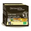 Thé noir citron miel - Ceylan - 20x2gr - Destination Premium