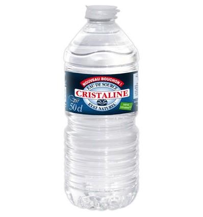 Cristaline eau plate 24 x 50cl