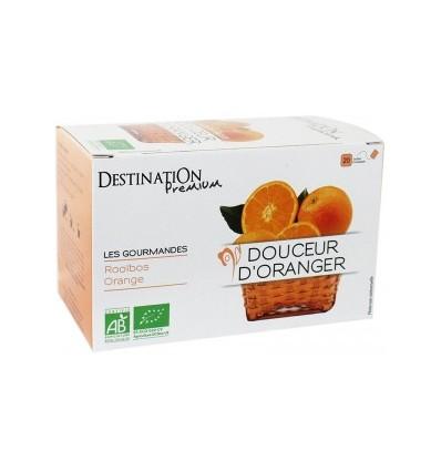 Infusion douceur d'oranger 20x1.5gr - Destination Premium