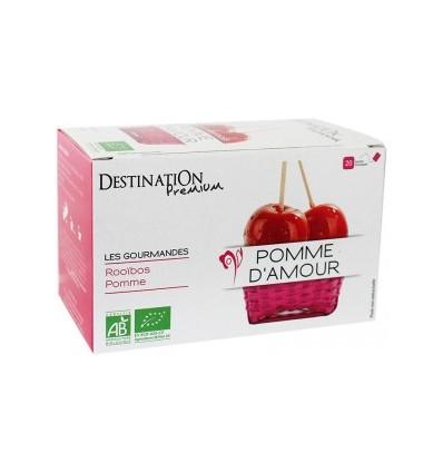 Infusion pomme d'amour 20x1.5gr - Destination Premium