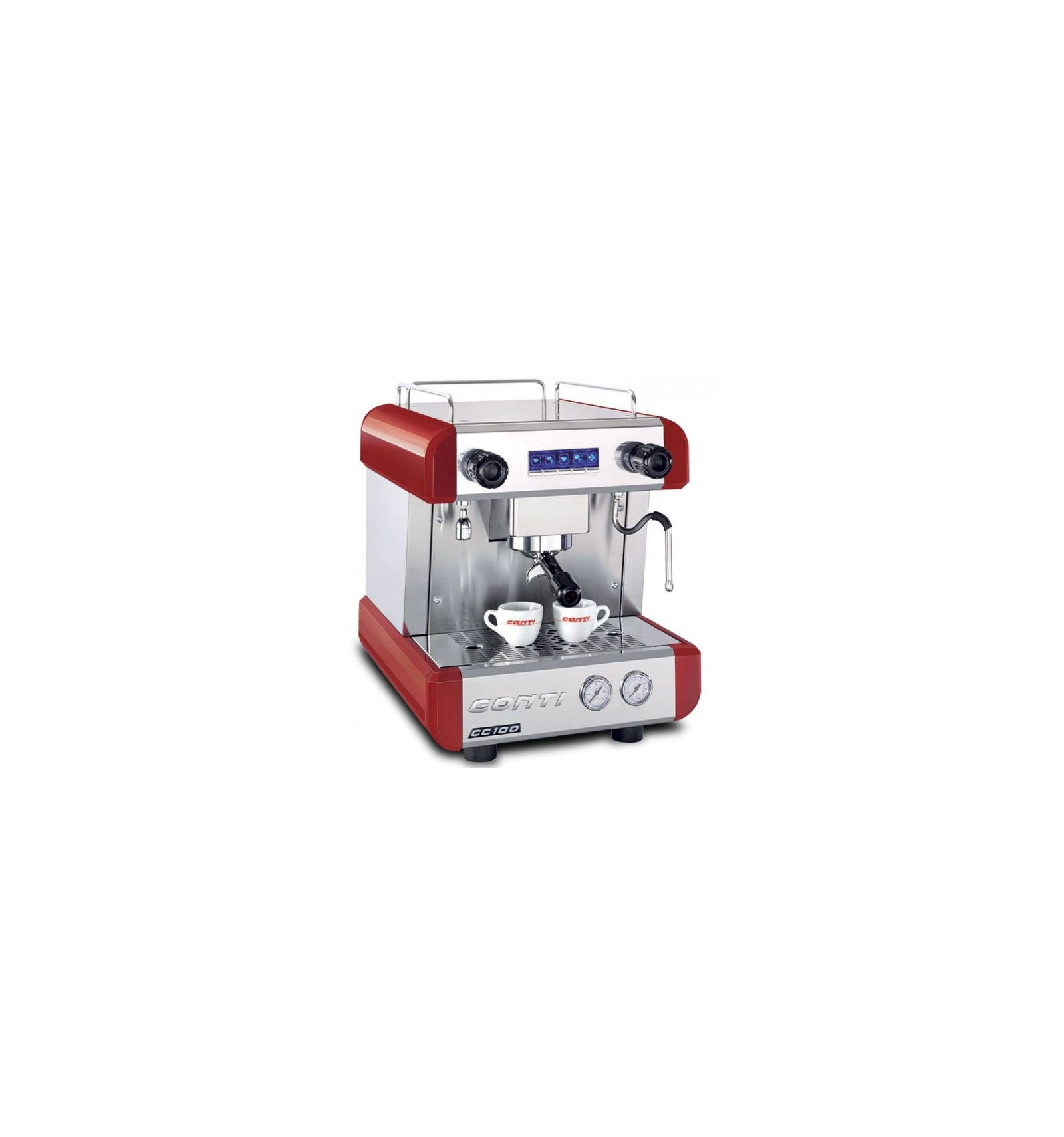 Machine 224 Caf 233 Cc100 Conti 1 Groupe Rouge Tip Top Coffee