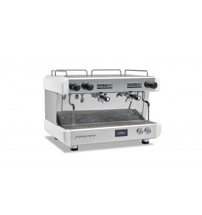Machine à café cc100 CONTI 2 goupes blanche
