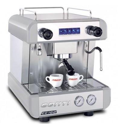 Machine à café cc100 CONTI 1goupe blanche
