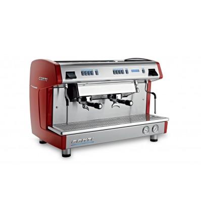 Machine à café x-one CONTI 2 goupes rouge