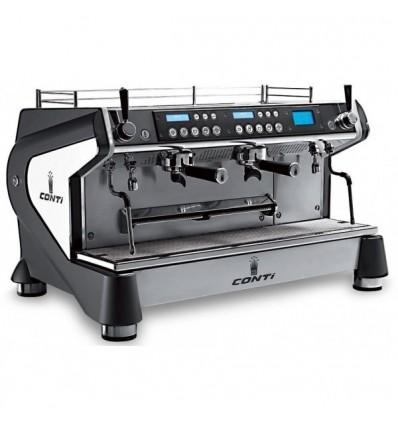 Machine à café CONTI Monte-Carlo 2 groupe noire