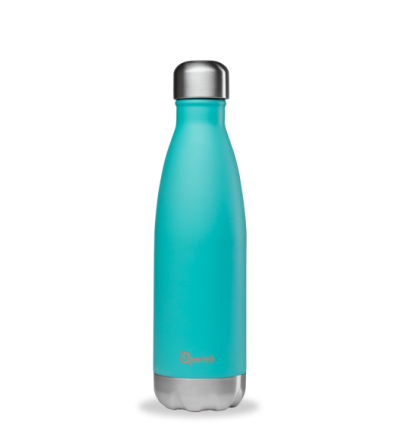 Qwetch bouteille isotherme 500ml bleu pastel