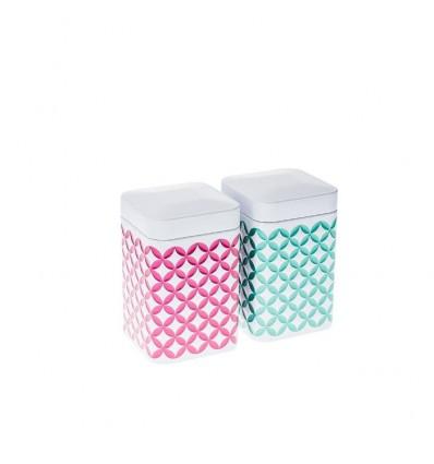 Boîtes à thé May Lin 100gr rose