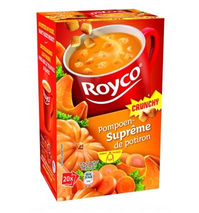 Royco suprême de potirons