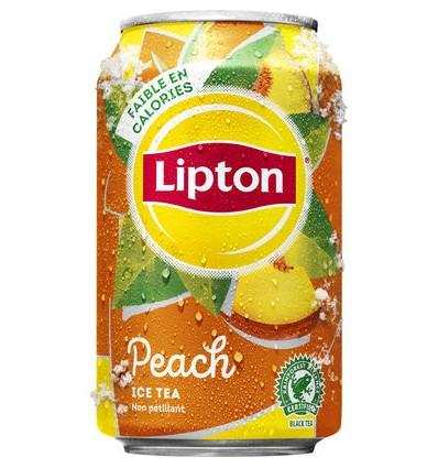 Lipton ice tea pêche 24 x 33cl