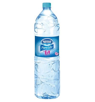 Nestlé pure life eau plate 6 x 1,5L