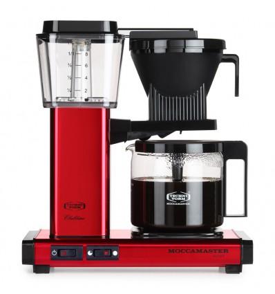 Cafetière filtre Moccamaster KBG 741 rouge
