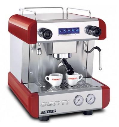 Machine à café cc100 CONTI 1goupe rouge